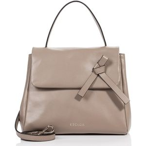 Escada Leather Signature ML40 Handbag